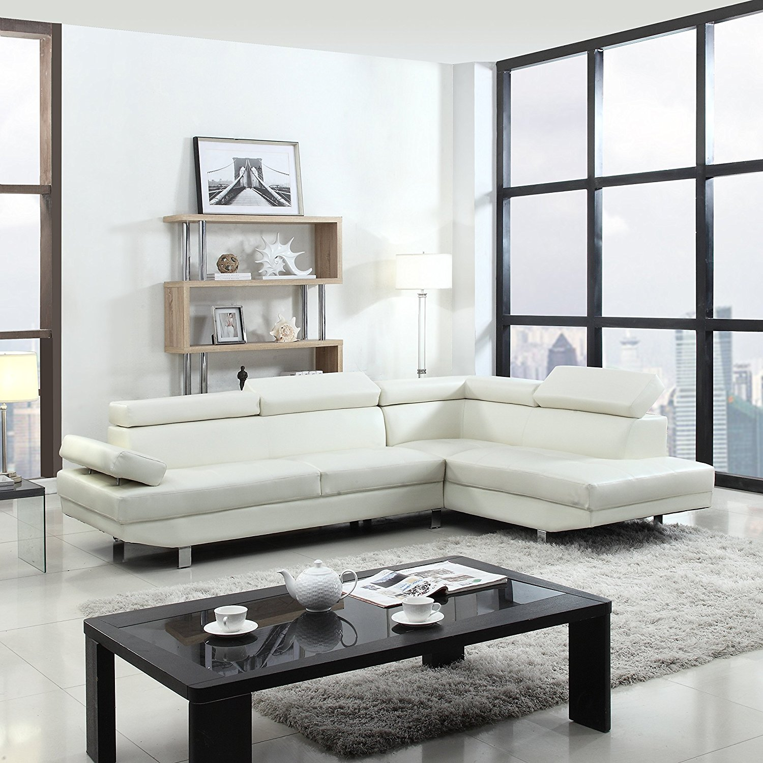 Poundex Is One Of The Best Sectional Sofa Brands In Market They Produce Elegantly