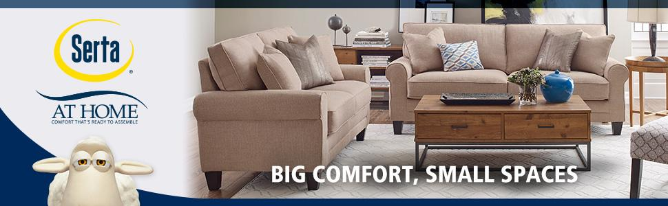 Serta Is One Of The Stylish Sofa Brand You Can Think They Produce Top