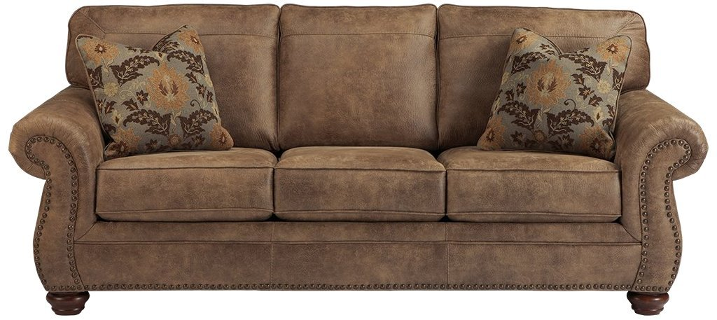 Ashley Furniture Singature Design is a contemporary leather sofa. Its stylish design is going to make you awe