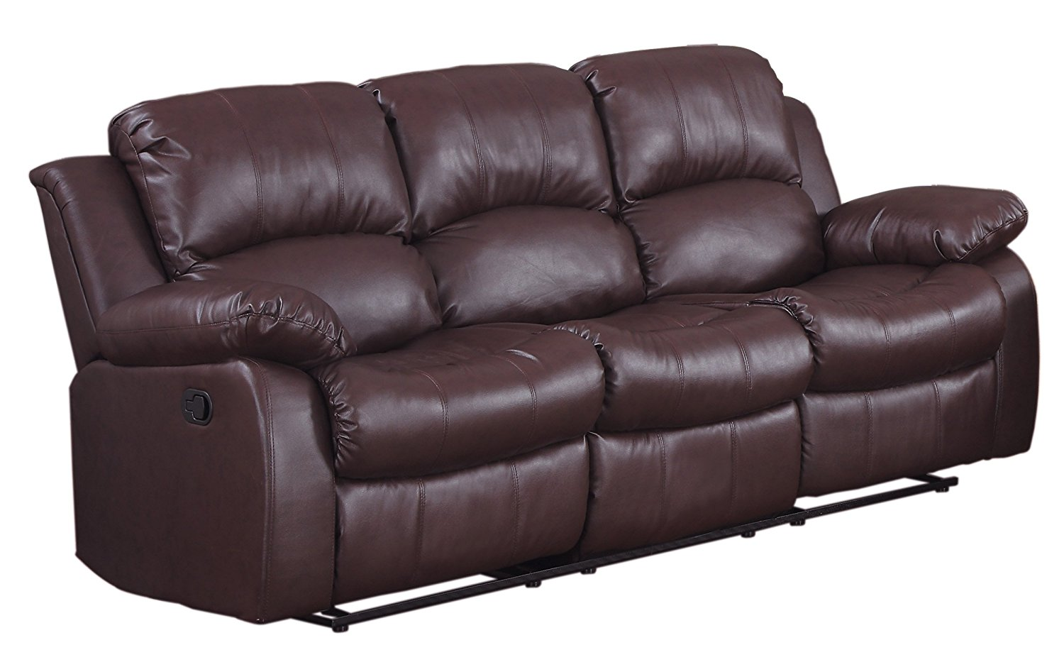 This double reclining from Homelegance is a stylish and nice leather recliner to have in your home