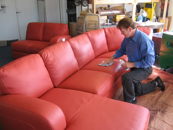 How to Dye A Leather Couch : 7 Steps to Leather Furniture Dyeing