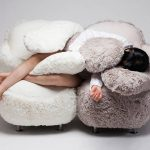 Lee Eun Kyong designed the famous Free Hugging Sofa