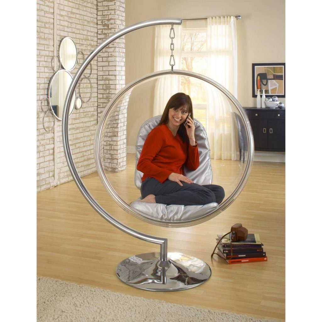 Bubble chairs are good alternatives to sofa