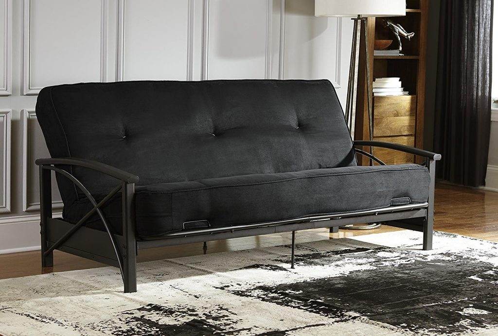 DHP's 8 inch sofa is one of the cheap option you will ever get for your living room furniture