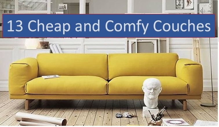 Reviews of top cheap and comfy couches in the market