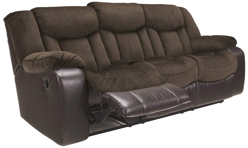 Ashley Furniture Signature Design - Tafton is one of the best reclining sofas