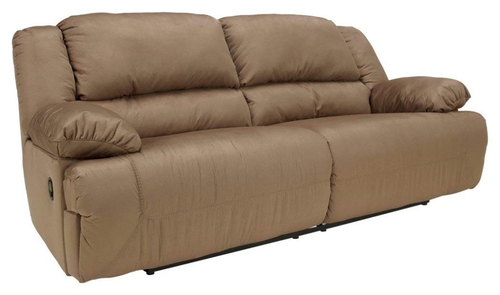 Ashley Furniture Hogan recliner is one of the top rated reclining sofas