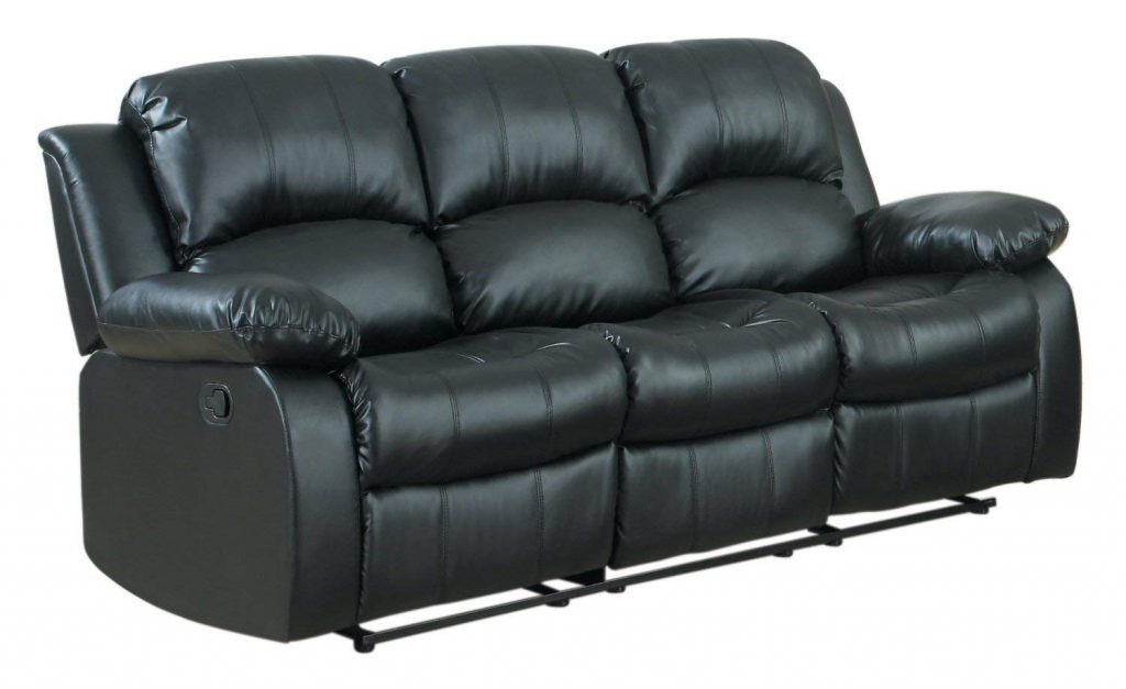 This stylish sofa from Divano Roma holds a top place in the list of best reclining couch
