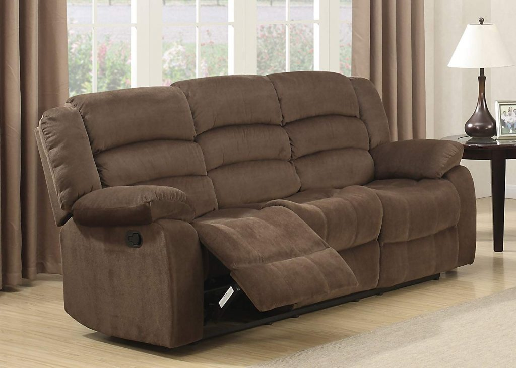 Chrisities Home Living Bill is the best reclining sectional sofa to buy if your budget is limited
