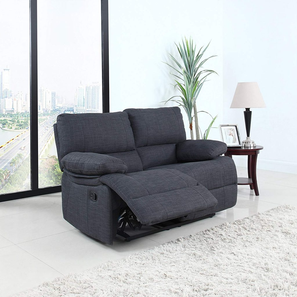 Divano Roma recliner is the best reclining loveseat for couples