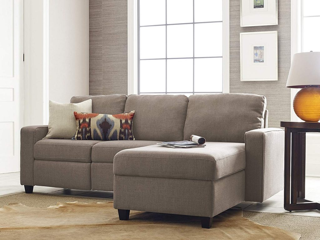 Serta Palisades is one of the best quality reclining sofa to buy