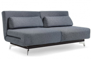 Apollo Grey Tweeds Convertible Sofa Bed