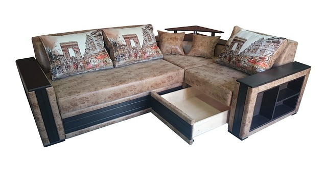 upholstered corner sofa