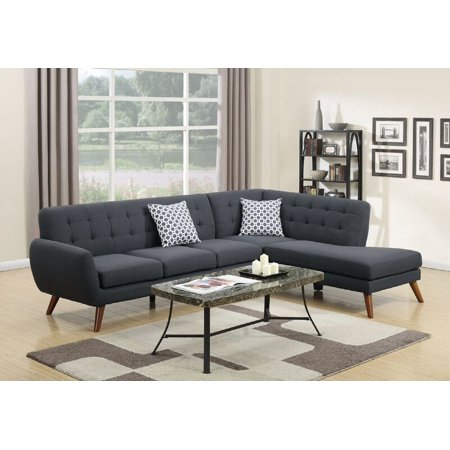 POUNDEX BOBKONA BELINDA SECTIONAL SOFA